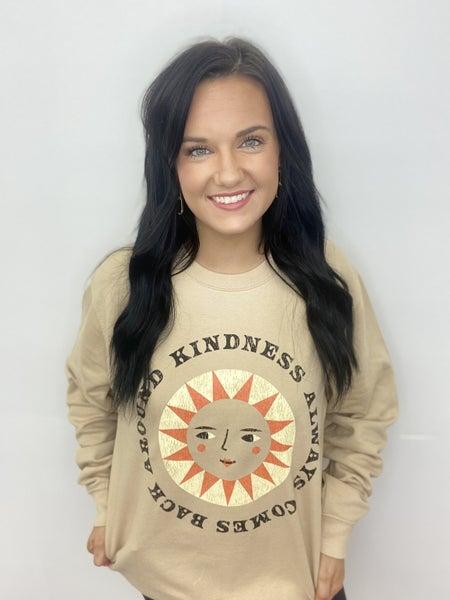 Kindness Sun Sweatshirt