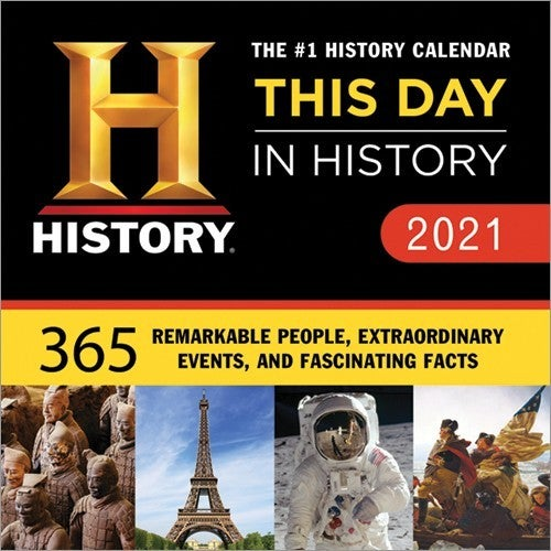 2021 History Channel Boxed Calendar
