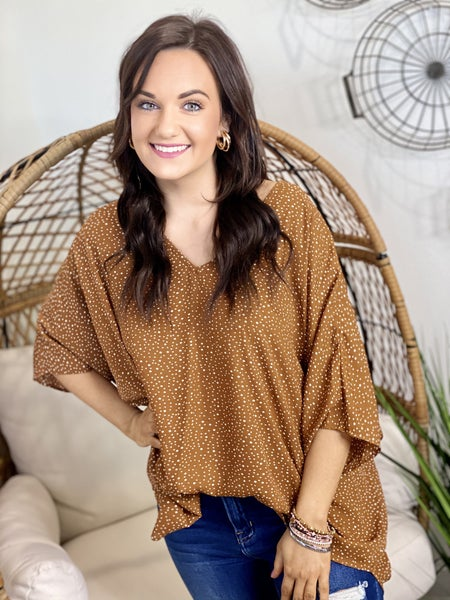 The Charlotte Poncho Top