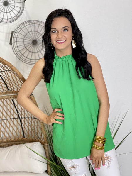 Show me Sass Top in Green