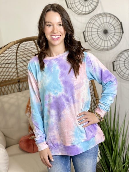 The Bubblegum Dyed Top