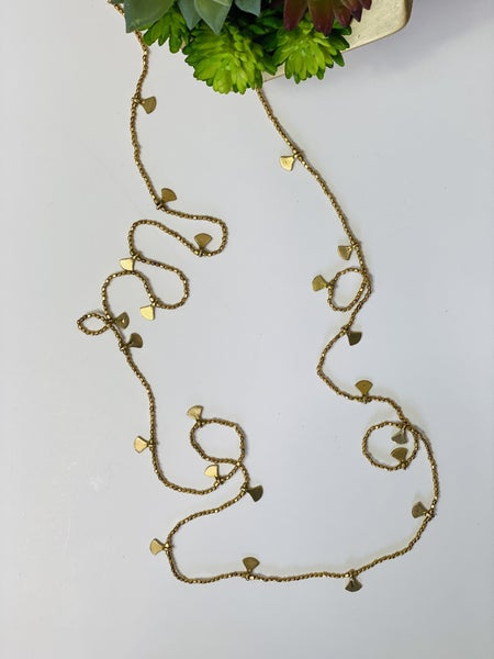 Gold Rope Necklace