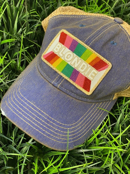 Denim Blondie Hat