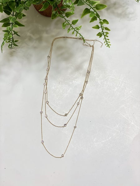 Triple Strand Elite Necklace