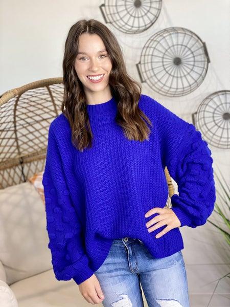 The Cobalt Cutie Sweater