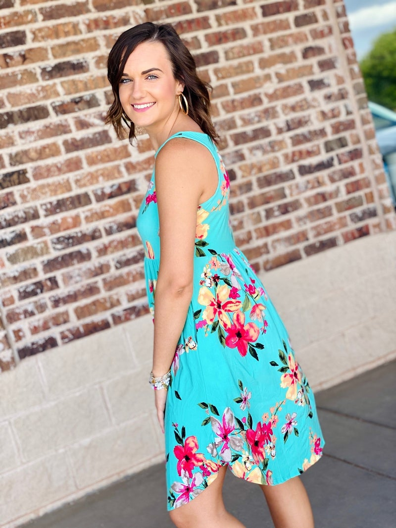 The Angie Dress in Mint