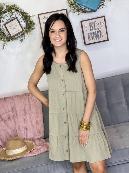 The Olive Branch Dress