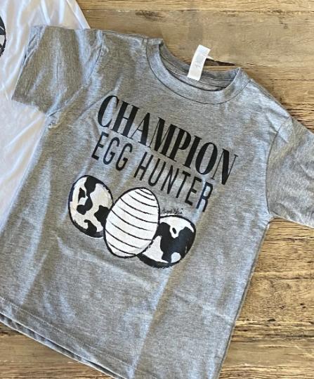 The Kid's Champion Egg Hunter Tee