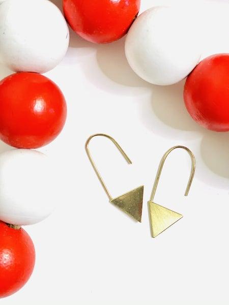 PF Steal #15 - Golden Clip Earrings