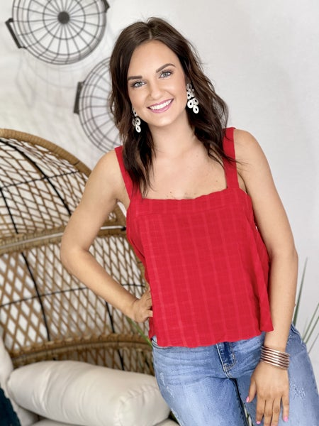 The Athena Red Tank