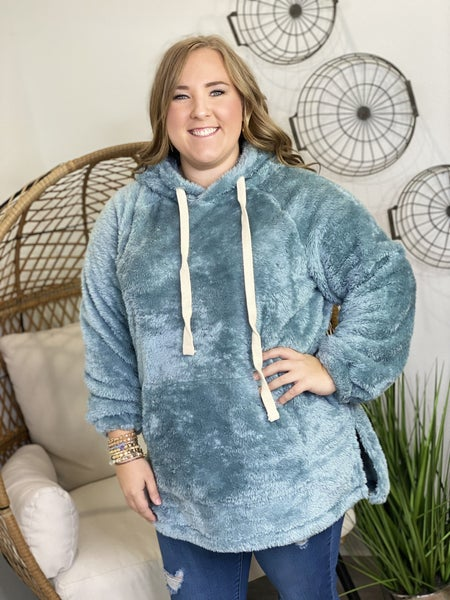LD STEAL #23: CURVY Hooded Sherpa