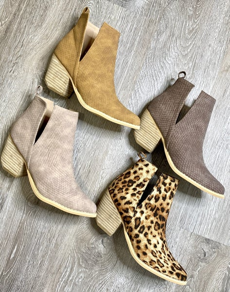 Berkely Booties in 4 Colors