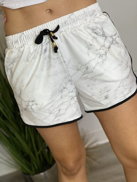 The Everyday Shorts in Marble