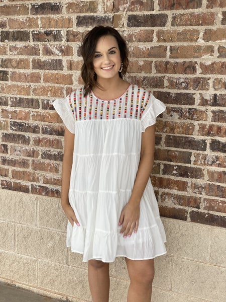 The Tiled Tier Dress