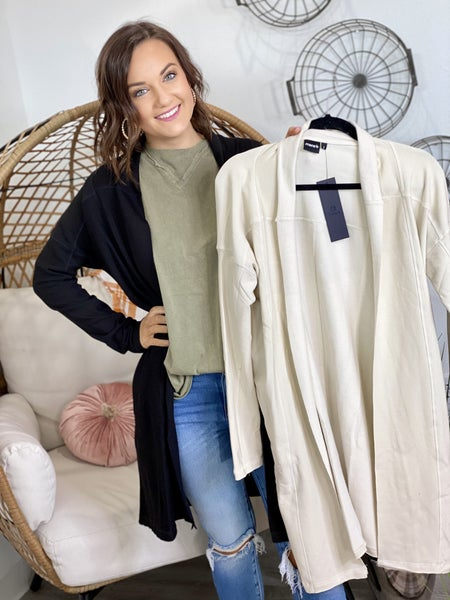 The Mono Cardigan-2 Colors/All Sizes