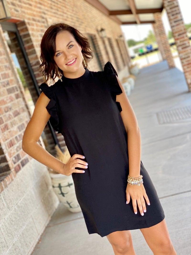 The Frilly Black Dress
