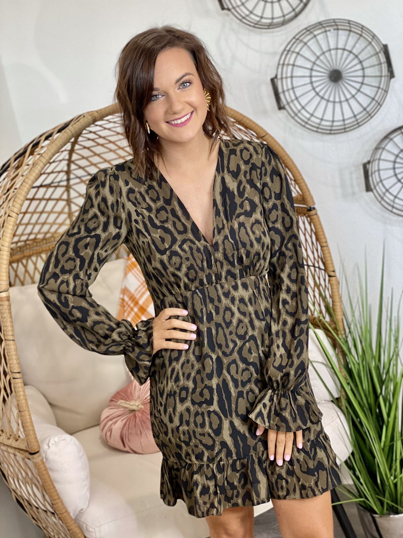 The Alicia Bearcat Dress