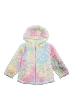 KIDS Dyed Sherpa Jacket