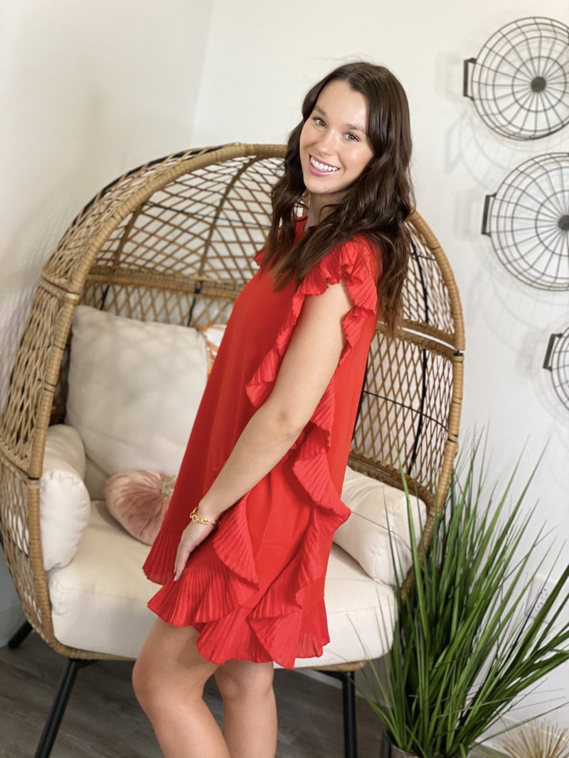 The Red Cocktail Dress