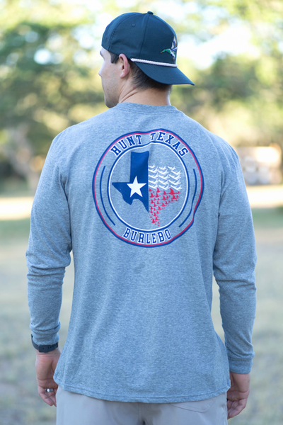Hunt Texas Circle LS Tee