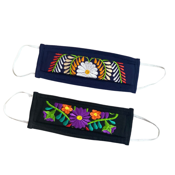 Steal Embroidered Face Cover - 2 Colors