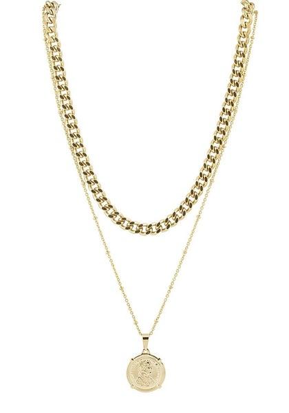 The Edina Coin Necklace