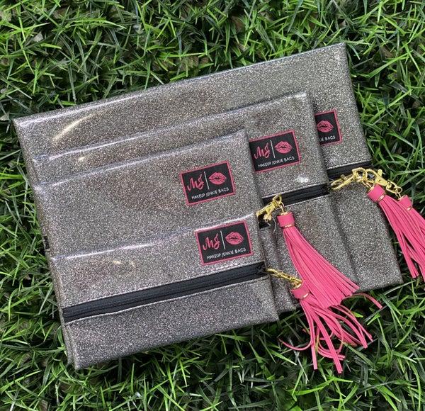 Glitter MJ Bags-Slate