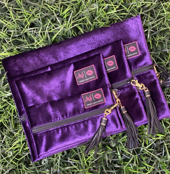 Purple Rain MJ Bags