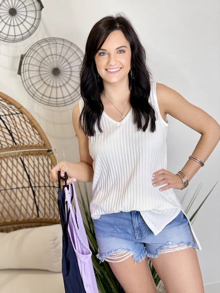 The Easy Summer Tank-3 Colors
