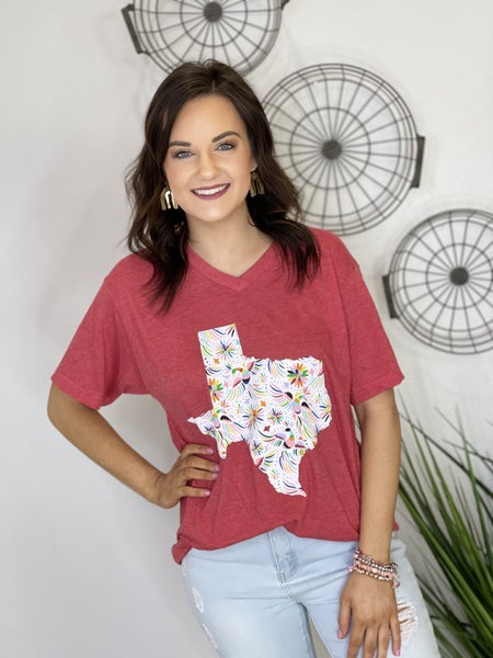 The Texas Fiesta Tee - All Sizes