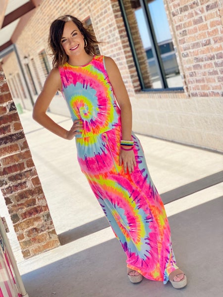 The Slinky Dyed Maxi