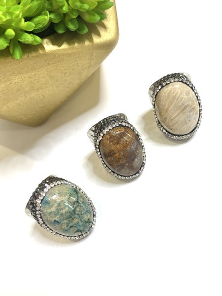 Fall Bling Rings-3 Styles