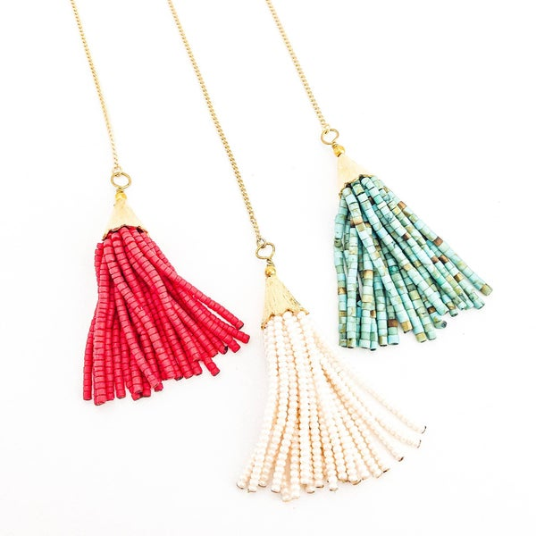 The Nora Necklace-7 Colors