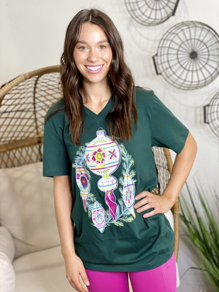 The Merry Ornament Tee - All Sizes