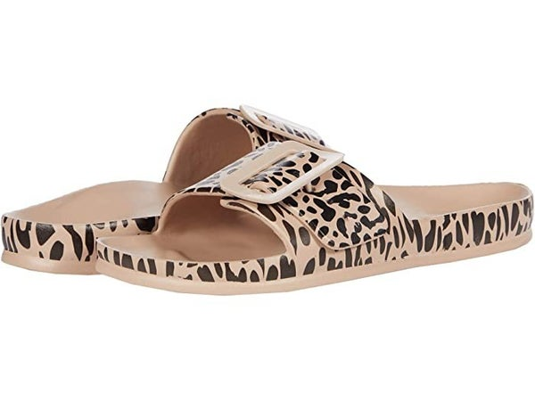 The Playful Sandals in Natural Leo