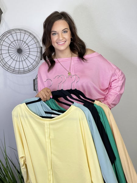 The Jayla Top-6 Colors