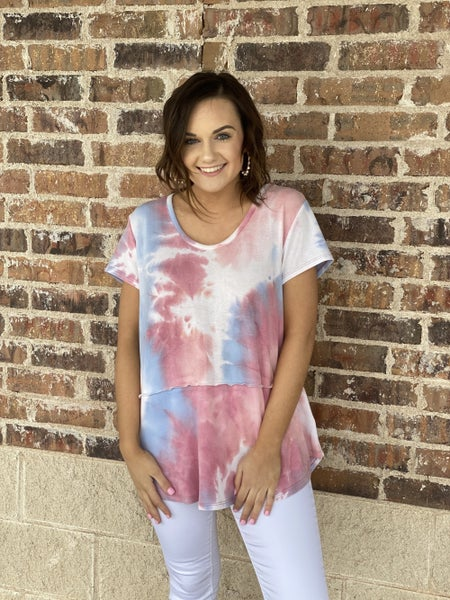 The Dyed Seams Top