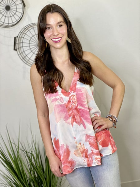 The Sweet Pea Lined Tank