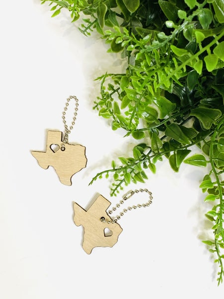 The Texas Love Keychain - 2 Styles