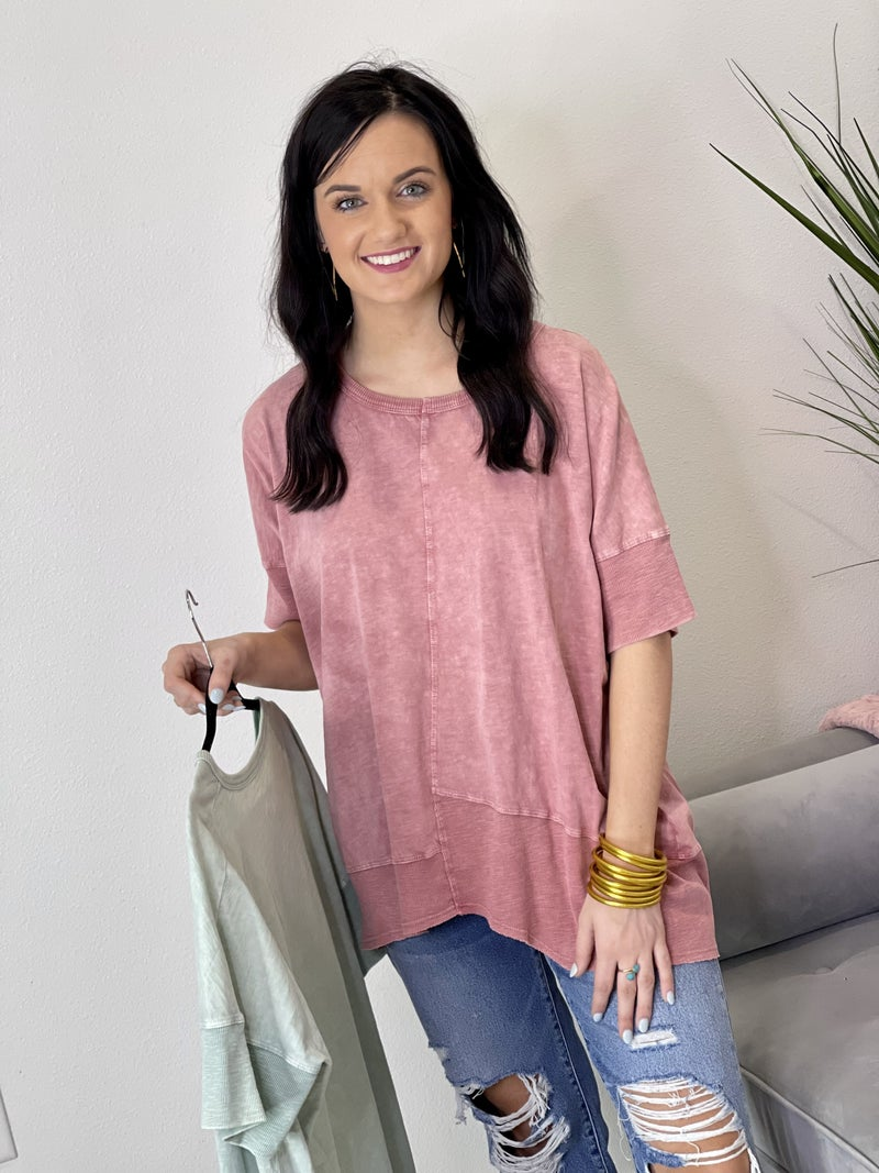 Uneven Hopes Top in 2 Colors