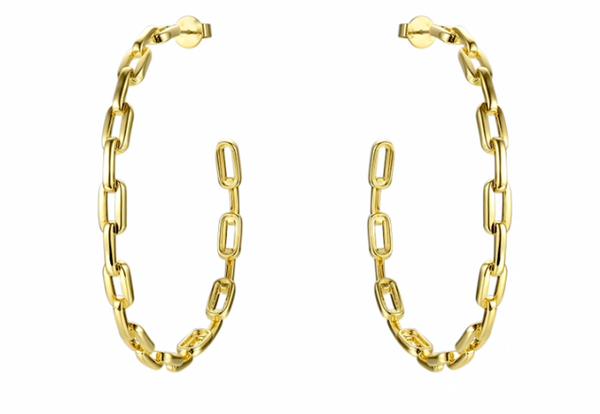 Anchor Chain Hoops