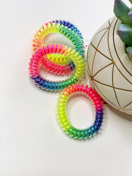 Neon Hair Coils