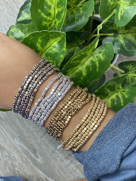 The Metal Beaded Stack