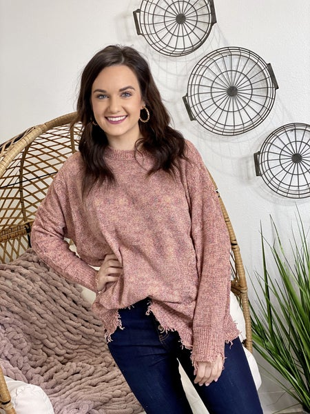 The Nora Sweater in Multi