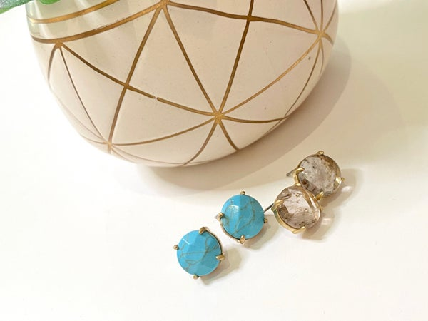 LD STEAL #50: The Howlite Studs