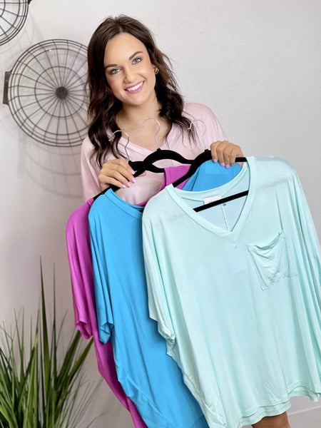 The Adrienne Basic Top - Lots