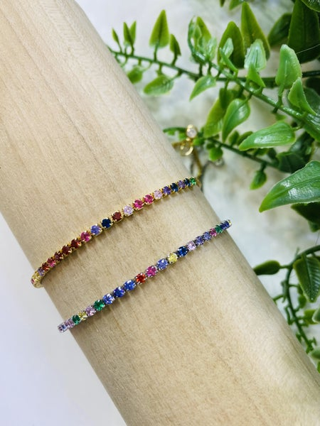 Dainty Dahlia Bracelets