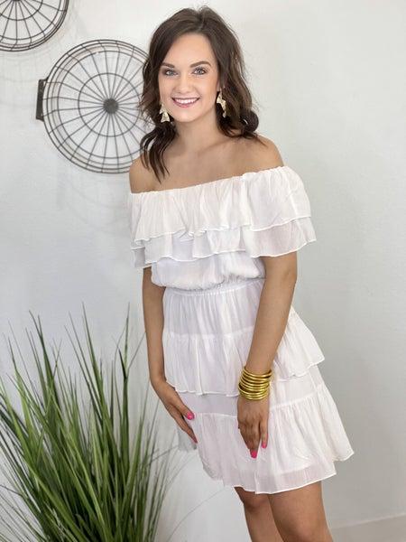 The Ibiza Dress in White
