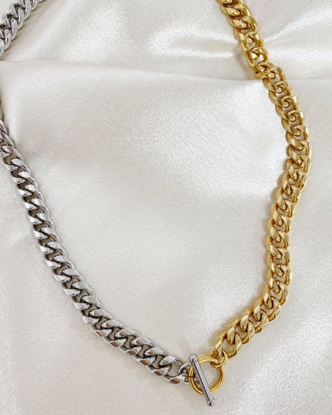 The Ashley Two Tone Chain