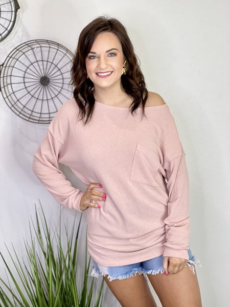 The Dusty Pink Top